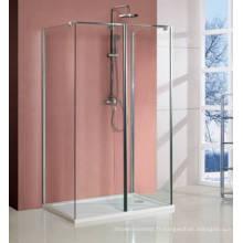 Promenade de nano-revêtement facile propre de double côté dans la pièce de douche