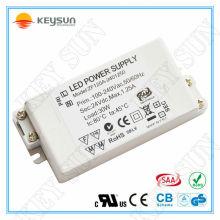 Fonte de alimentação DC AC com LED Driver 30W 24V fonte de alimentação led