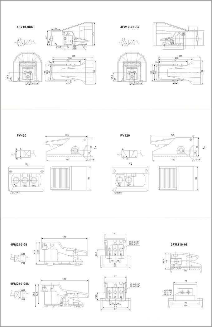 FV320 Pneumatic Valve