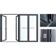 2017 New Revolutionary Foldback System Alumínio Bifolding Doors