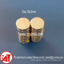 D10X1.5mm D10X2mm Disc Magnets for Package Box/10X2mm Disc Magnets for Paper Box