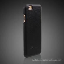 Caja de cuero del teléfono móvil de la PU para iPhone6