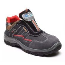 Fuerte Trabajo Industrial Profesional Estándar PU Calzado De Trabajo De Seguridad Zapatos