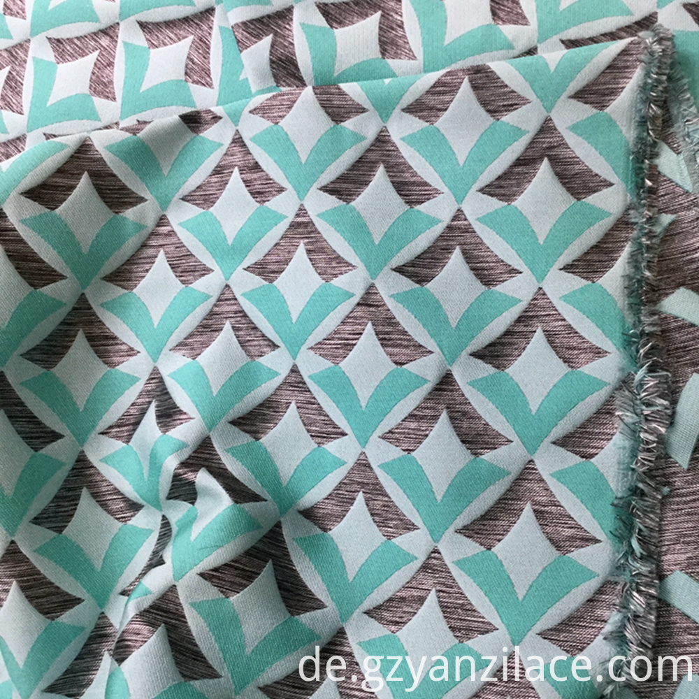 Satin Jacquard Fabric