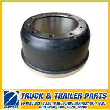 Pièces de remorque du tambour de frein 21018986 pour Ror