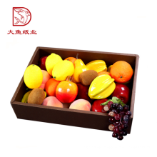 Wholesale disposable fancy fruit food box with divider packaging