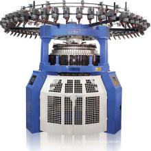 Computerized Double Jersey Jacquard 3 Levers Circular Knitting Machine