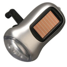 Lanterna solar do dínamo (tocha) (14-2Y2012)