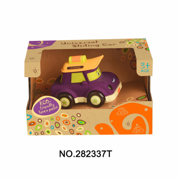 Cartoon Bus W / Light & Music Baby Toy
