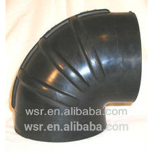Codo de goma moldeado certificado con TS16949