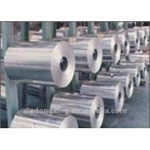 Utilisation alimentaire et feuille de papier en aluminium à rouleaux