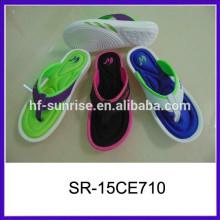 New arrival fashion memory foam wholesale slippers man slipper rubber slipper