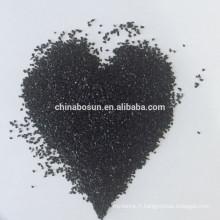 Scories de cuivre de sablage / silicate de fer pour le chantier naval