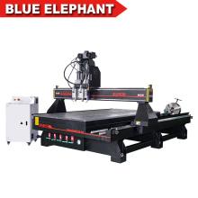 Mobília que faz equipamentos / que processa a maquinaria / router do CNC para os pés da cadeira