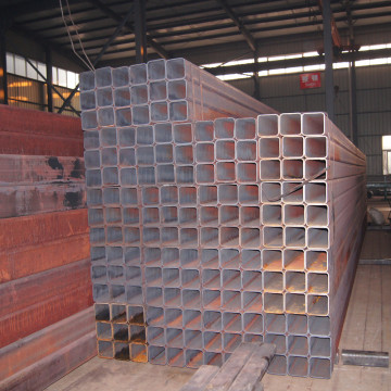 Logam Nipis Wall Rectangular Hollow Steel Pipe