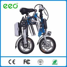 Bicyclette électrique portative 12 po vélo Li-ion pliante vélo électrique avec CE