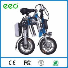 "12 ""bateria dobrável elétrica portátil do Li-íon que dobra a bicicleta elétrica com CE"
