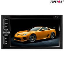 Lecteur DVD de voiture double DIN 2DIN de 6,2 pouces avec système Android Ts-2003-1