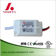пластиковый корпус IP20 постоянн течение 350ma 500ma выход 6 Вт мини светодиодный драйвер