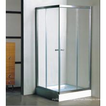 Cubículo de la ducha de cristal templado del cuarto de baño completo de calidad superior (c12)