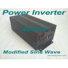 Inversor de energía de onda sinusoidal modificada de 4000 vatios / inversores de alimentación para automóviles