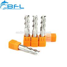 3 Flöten Aluminium-Werkstück-Prozess Fräswerkzeuge Fräser CNC-Hartmetall