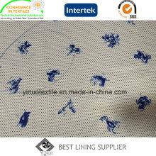 100% полиэстер прекрасный животных шаблон печати Подкладка с высоким качеством