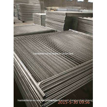 48mm Od. Heavy Duty Galvanized Temp Fence