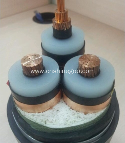 sector shaped conductor PVC Insulated electrical cable