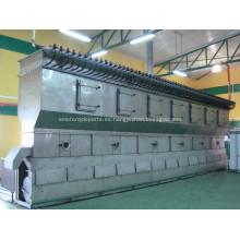 Secador químico de cama fluida horizontal