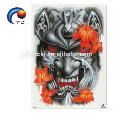 Etiqueta engomada fresca y del sexo del tatuaje trasero para los hombres con la etiqueta engomada del dragón
