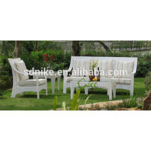 2014 latest design outdoor furniture rattan sofa bed