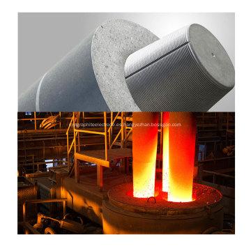 Electrodo de grafito HP UHP de 600 mm para la fabricación de acero
