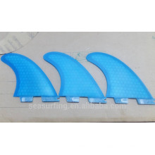 Nouvelle tendance mode couleur pure bleu G5 palmes FCS II nid d'abeille et fibre de verre