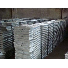 Цинковые слитки 99,995% Производитель
