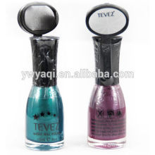 2015 hot sale new pattern magnetic organic gel nail polish for lady