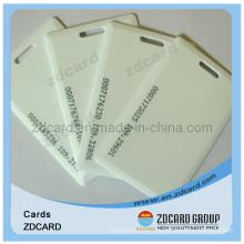 Пустая бесконтактная карта / бланковая карта / идентификационная карта PVC