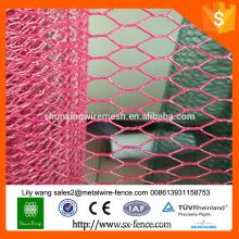 2016 coopérative de vente à chaud galvanisée à grille hexagonale