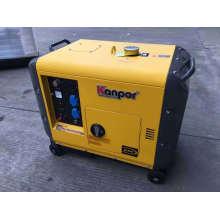 Kanpor 4.5kw 50Hz / 5.0kw 60Hz Kp6700dgfn Series Silent Soundproof Air Cool Portable Diesel Generator, Silent Generator