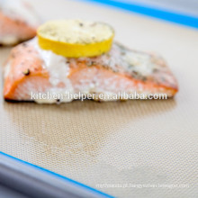 Custom Grade alimentar resistente ao calor Non-stick Teflon Silicone Baking Mat
