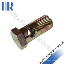 Adaptateur hydraulique de boulon de BSp d'acier au carbone à haute pression (720B)