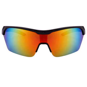 2018 Sporty Sunglass with Mirrored Lens