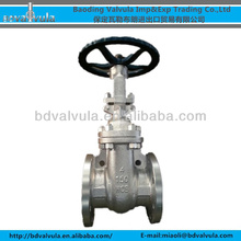 Z41H-16C ASME b16.10 4 inch A216 WCB gate valve