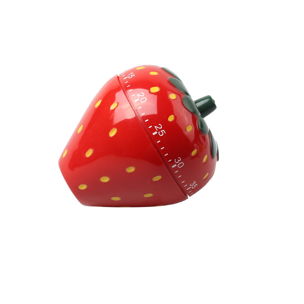 Customized 60 Minute Strawberry Mechanical Timer