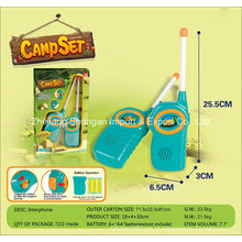 Boutique Playhouse Plastic Toy-Camping Interphone