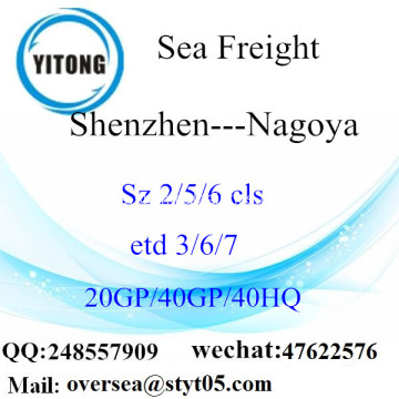 Shenzhen Port Sea Freight Shipping ke Nagoya