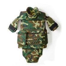 Nij III Policía Armada Camuflaje Kevlar PE Protección Tactical chaleco a prueba de balas