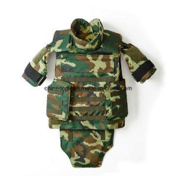 Nij III bewaffnete Polizei Camouflage Kevlar PE schützende taktische Kugelsichere Weste