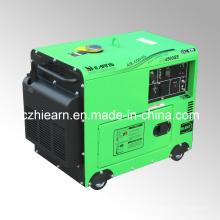 3.2 kW Молчком Тепловозный генератор с 4-Тактным дизельным двигателем (DG4500SE)