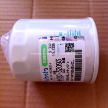 Filtre à huile de pièces de moteur d'excavatrice Kubota HH160-32093